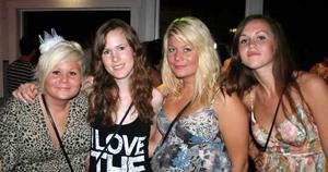 Sjökrogen. Suss, Elisabeth, Sofie och Malin
