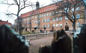 Byggnaden som Söderbaumska skolan håller till i fyller 100 år nästa år. Foto: Mikael Forslund