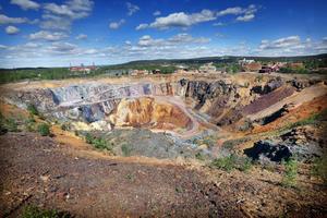 till dagens turistattraktion drygt 20 år efter att gruvdriften lades ner.