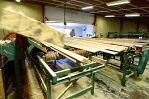 Det är här som brädorna kommer att kunna kvalitetsbedömas när ombyggnationen är klar.