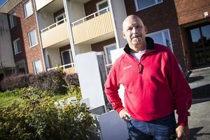 Micke Krantz är ordförande i Söderhamn/Ljusne Hockeyklubb som höll i utförsäljningen