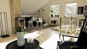 Möblera vardagsrummet för umgänge och sätt gärna tv:n i ett annat rum. Ställ möblerna nära varandra, det inbjuder till samtal, tipsar Anders Öfvergård.