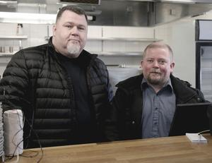 Johan Fridholm och Roger Bäck är krögaduon som tar över Hagge Golfkrog.