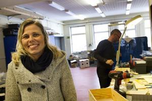 Johanna Örnehag, rektor på MTH-skolan.