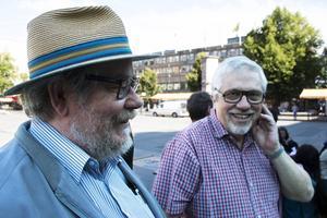 Leo Holtter och Leif Ottenvang var glada att delta.