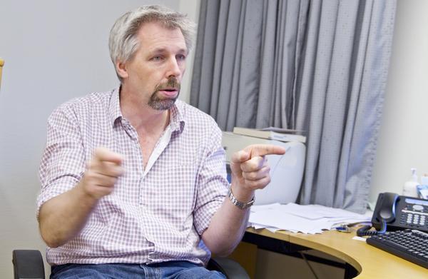 """Att anställa fler ST-läkare är det enda sättet att lösa det här"""", säger Rune Kaalhus, ordförande för distriktsläkarföreningen i Västmanland."""