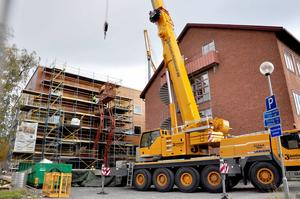 Bygget av gymnasiebyn vid Wargentinsskolan beräknas ha kostat 58 miljoner kronor under året. Det är den enskilt största investeringen.
