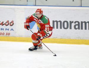 Mattias Beck från matchen mot Södertälje i fredags.
