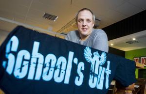 Marcus Wågström, arrangör för den nyktra skolavslutningsfestivalen School's out.