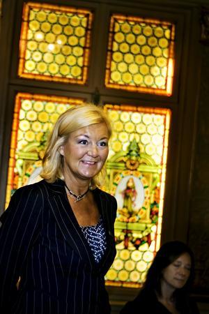 Utsatt. Berns vd Yvonne Sörensen. Foto: Scanpix