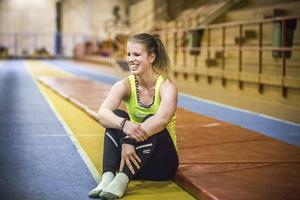 Viktoria Karlsson kommer att tävla både i längdhopp och på 200 meter under EM-tävlingarna i Italien.