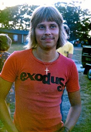 70-talet. Lennart Bondeson (KD) på det glada 70-talet. Foto: Privat