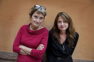 """Maud Nycander och Kristina Lindström. Duon som har gjort dokumentären """"Palme""""."""