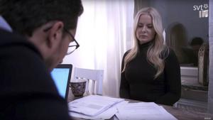 Gävlebon Veronica Gustavsson får hjälp i SVT:s nya program