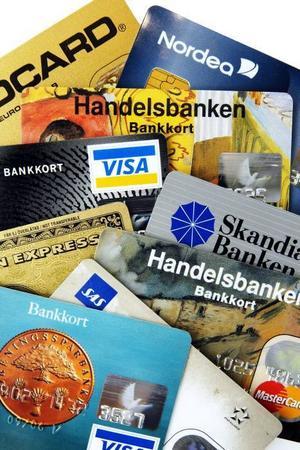 Bankomatkort är bra att ha.