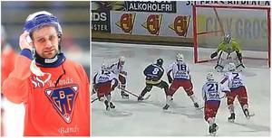 Tobias Björklund kom till Tellus från Bollnäs den här säsongen och har så här långt levererat åtta poäng för Stockholmslaget. Foto: Arkivbild
