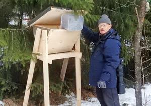 Nötkråka fotad av Bo Johansson, Tunabygdens fågelklubb.