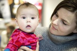 Kallurs fem månader gamla dotter, Majken.