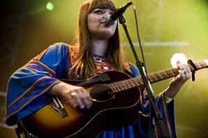 Klara Söderberg live på Roskilde 2012.   Foto: Jesper Mortensen/AP/TT