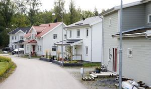 Herrgårdsängen, ett nytt bostadsområde växer fram i Gäddeholm.