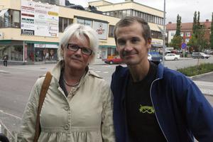 LBK-basen Yvonne Oscarsson och Micke Vallin tror på sin