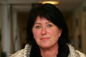 Gunilla Woxlin läser samtidigt specialiserad demensutbildning på Sophiahemmets högskola i Stockholm