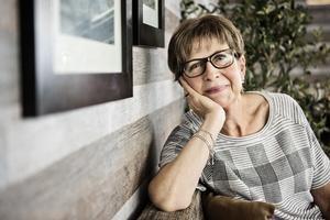 """Inga-Britt Nilsson Good önskar att de anhöriga till donatorn fick veta hur väl lungorna kommit till användning. """"I bland har jag velat skriva ett brev till dem"""", säger hon."""