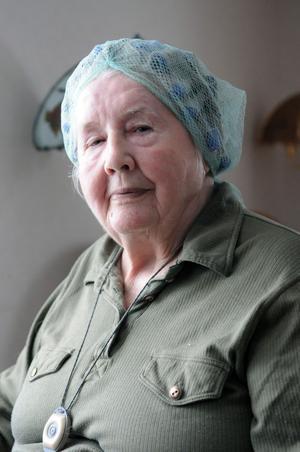 Kerstin Davidsson lämnade Svenska kyrkan redan på 50-talet, men har funderingar på att gå med igen och har gjort det en längre tid.– Men det har inte blivit av, konstaterar hon.