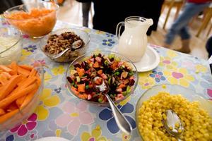 I dag ska 35 procent av maten i Ockelbo kommun vara ekologisk, men det förs diskussioner om att utöka andelen till 40 procent.