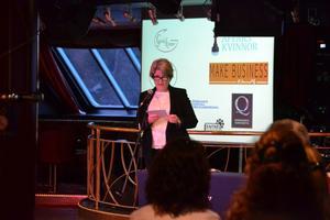 Projektledaren och företagaren Agnetha Påhlin vill få fler kvinnor att starta företag.