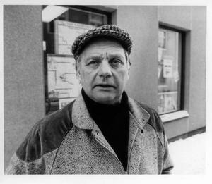 Leif Lindqvist. Bilden är från 1986. Foto: Bernt-Erik Rutström