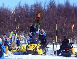 Gödselanvändning i Åres backar. Under skutskjutet 2009.
