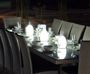 Laddningsbar trådlös LED-belysning från Smart & Green finns bland annat hos Gardenhome.se. Cirkapris: 1095 kronor per lampa.