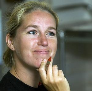 Catherine Wennberg är sammankallande i skolgruppen och hon upplever ett stort engagemang hos bybor och föräldrar.