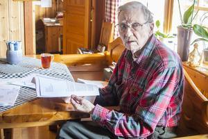 Horst Kuehne har författat ett medborgarförslag om sophämtningen i Haraldsåsen som kommunen nu ska hantera.