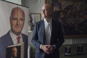 Reinfeldt har ägnat sig åt bokskrivande (här boksläpp 2016 av