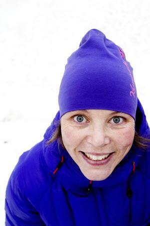 GÖTEBORGARE MED FJÄLLVANA. Catharina Utanskog har lämnat jobbet som eventansvarig i Åre för att i stället basa över Kungsberget.