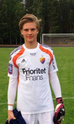 Målvakten från Vemdalen Oscar Jonsson spelade premiärmatch med Djurgårdens U-21-lag,