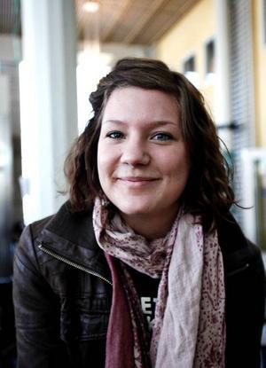 Ellen Berglund, 21, Jönköping, socionomprogrammet:– Det var nog mer intresse än jobb.