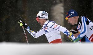 Johan Olsson i täten i herrarnas femmil under skid-VM i Falun 2015. Olsson har gjort sig ett namn i den klassiska skidvärlden - en stil som är värd att bevara enligt många.