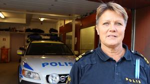 Ny polischef. Agneta Kumlin är ny lokalpolisområdeschef. Hon kommer från tjänsten som närpolischef i Sala.
