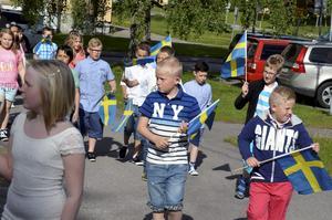 Skolavslutning i Bergskyrkan 2015, Laxå.