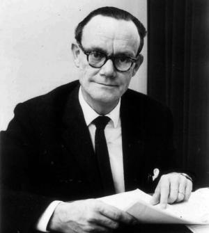 Disktrasans uppfinnare Curt Lindquist.