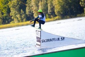 Wakeboard-EM är i full gång på Eskiln.