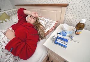 Förkylningstider. En god natts sömn är viktig om man vill hålla sig frisk.
