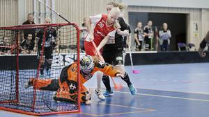 Telge SIBK:s forward Maria Hellstrand i en tidigare match.