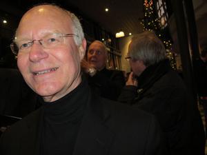 Bengt Olerud, 68, läkare, Gävle:– Betyder mycket. Själv har jag varit inbiten sedan tidigt 60-tal, och också varit engagerad som nationalsångare här flera gånger.
