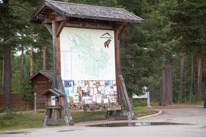 Den stora portalen på Storön.