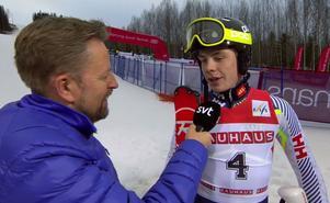 Filip Vennerström överraskade.