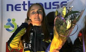 Frida Johansson, OK Djerf, tog ett skrällartat SM-guld i D18-klassen, Karlskogaklubbens första SM-tecken sedan Maria Westher vann sprint-SM i D18 2008.